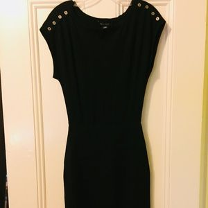 WHBM Black Cocktail or Work Dress